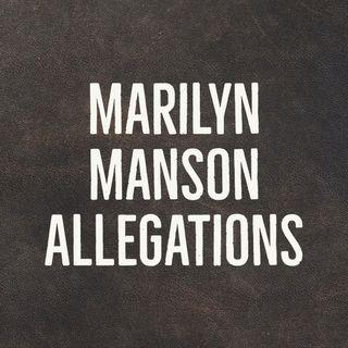 Marilyn Manson Allegations