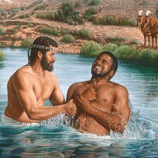 Filippo e l'eunuco etiope