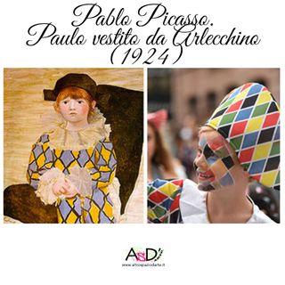 Episodio 13 - Pablo Picasso - Paulo vestito da Arlecchino - 05/02/21