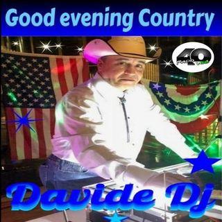 "Radio 40 ""Good Evening Country""  EP.28 Con.Davide Dj"