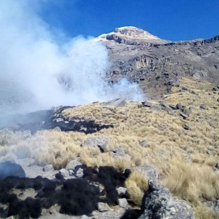 Controlado  incendio en Izta-Popo