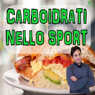 Episodio 34 - I CARBOIDRATI PER LO SPORTIVO - Nuovo video sull'alimentazione sportiva