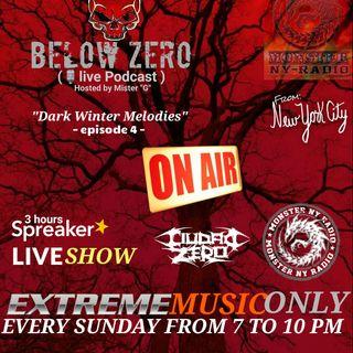 BELOW ZERO - DARK WINTER MELODIES