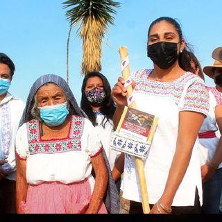 Exhortan a indígenas a no entregar Bastón de Mando a políticos