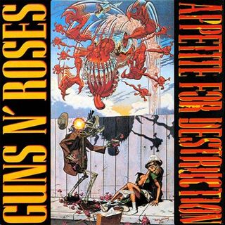 ESPECIAL GUNS N ROSES APPETITE FOR DESTRUCTION #GnFnR #classicrock #hardrock #yoda #r2d2 #twd #bop #mulan #onward #westworld #onlyvegas #twd