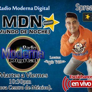#MundoDeNoche con Sergio Valdez