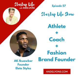 Athlete + Coach + Fashion Brand Founder