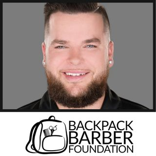 Greg Young of the Backpack Barber Foundation