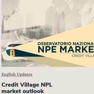 Credit Village NPL Market Outlook - English Version