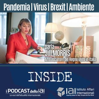Pandemia, virus, Brexit, ambiente - Parla Jill Morris