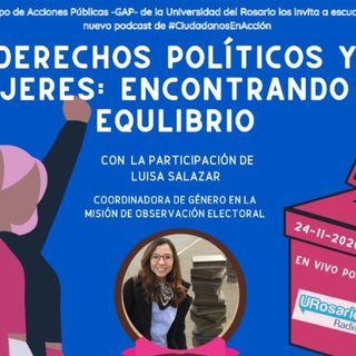 Derechos políticos y mujeres: encontrando equilibrio
