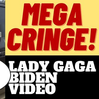 LADY GAGA MAKES CRINGE BIDEN VIDEO