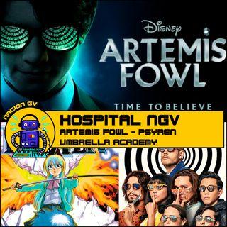 Hospital NGV - Artemis Fowl, Psyren y Umbrella Academy - 2 de agosto