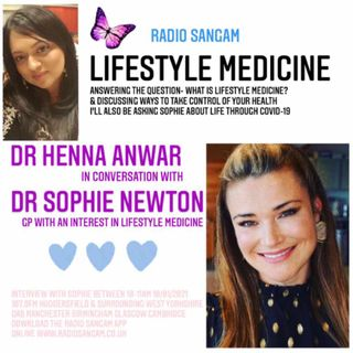 Dr Henna in conversation with Dr Sophie Newton on Lifestyle Medicine