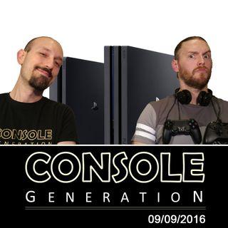 PlayStation 4 Pro e altro - CG Live 09/09/2016