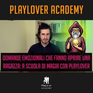 986 - Domande emozionali che fanno aprire una ragazza a scuola di magia con PlayLover