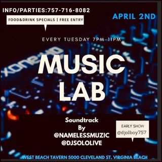 (Explicit) @DjNameLess757 & @DjSoloLive's 04-02-2019 performance at #MusicLabVa (#DjSekoVarnerAndFriends)