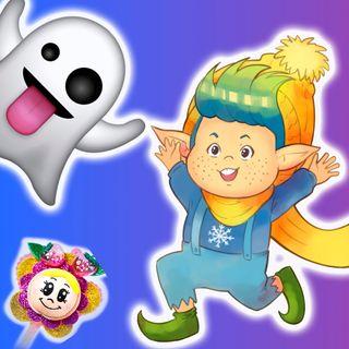 13. El fantasma cataplasma y el duendecillo pepillo. Cuentos infantiles de Hada de Fresa