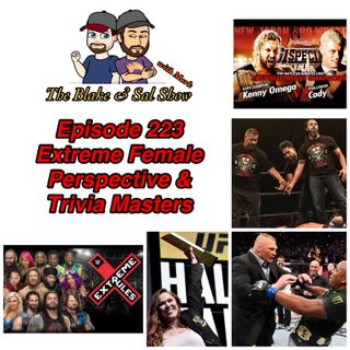 B&S Episode 223: Extreme Female Perspective & Trivia Masters