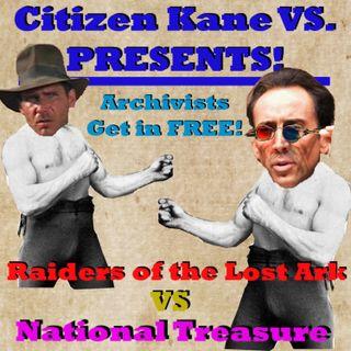 Indiana Jones and the Raiders of the Lost Ark vs National Treasure
