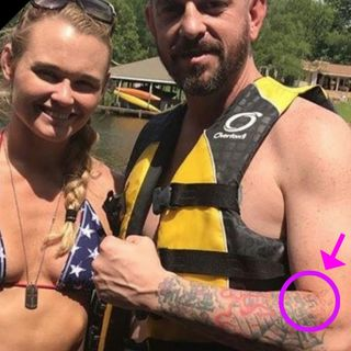 Sports Joc DEFENDS Andrea Lee's husband & Swastika tattoo