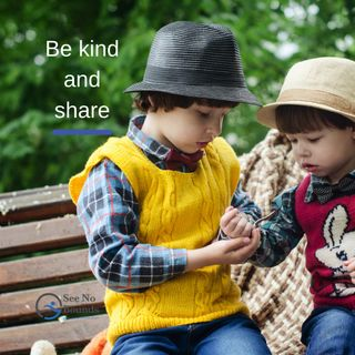Be Kind And Share
