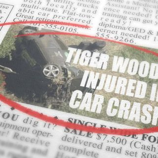 Tiger Woods injured in car crash | Just Frank And Killian