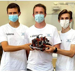 """""""Salbeghi"""" d'oro ai Mondiali di Robotica per studenti. E' la squadra dell'Itis De Pretto"""