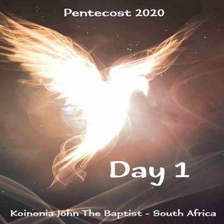 PENTECOST NOVENA - DAY 1