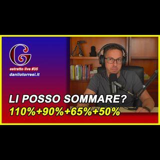 🟡 Cumulabilità Superbonus 110 bonus facciate bonus ristrutturazione? - estratto live #35