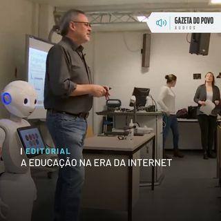 Editorial: A educação na era da internet