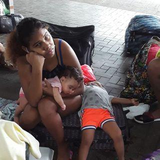 #ENTREVISTA | Situación de nicaraguenses varados en Panamá es crítica: dos menores en riesgo