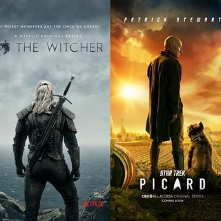 ...Recommends TV Shows (The Witcher, Star Trek Picard)