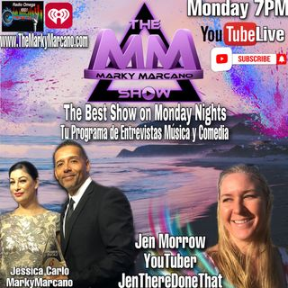 YouTuber Jen There Done That at TheMarkyMarcanoShow
