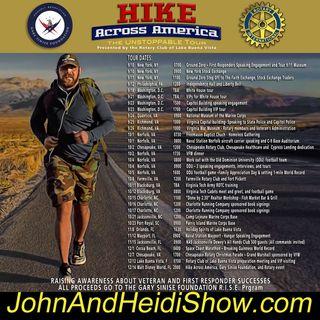 09-20-19-John And Heidi Show-TshaneJohnson-HikeAcrossAmerica