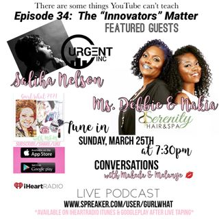"""Episode 34:  The """"Innovators""""  Matter-  YouTube doesn't know it all"""