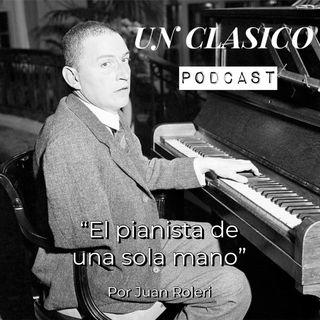 21 - El pianista con una sola mano