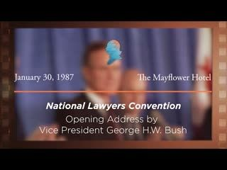 Opening Address by Vice President George H.W. Bush [Archive Collection]