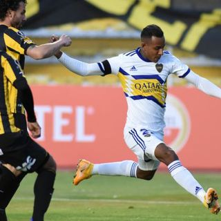 Gol de Boca: Sebastián Villa 0-1