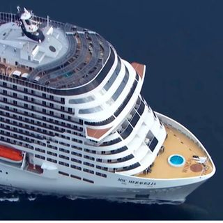 Aplican protocolo de sanidad en crucero Meraviglia