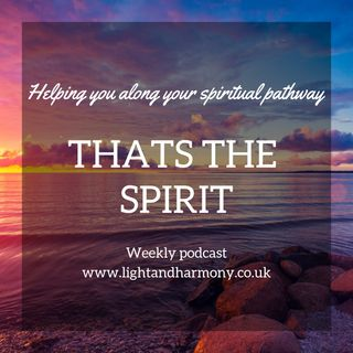 Thats The Spirit Podcast Episode 9 Special Guest Lea Rowley