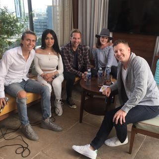 Nikita Dragun, Ryan Hansen & Ian Thomas