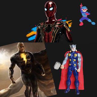 #2 Noticias de Spiderverse, Black Adam y Thor Love and thunder