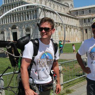 Tutto Qui - lunedì 13 agosto - Il giro d'Italia in paramotore da Cavour