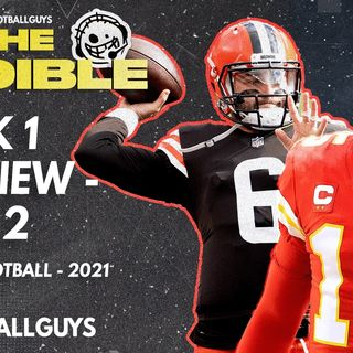 The Audible - Week 1 Preview part two - 2021 Fantasy Football
