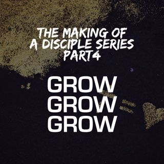 The Making Of a Disciple Series - Part 4: Grow, Grow, Grow! - Pr Andy Yeoh
