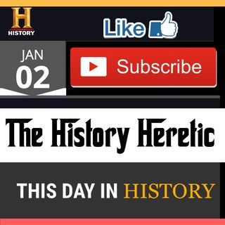 This Day In History w/ #TheHistoryHeretic #JovanHuttonPulitzer