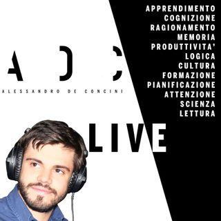 Metodo di studio, cosa funziona e cosa no - Alessandro de Concini - ADC Live