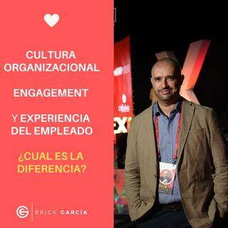 Cultura Organizacional, Engagement y Experiencia del Empleado ¿ Cual es la diferencia?Con Erick Garcia #. 97 |