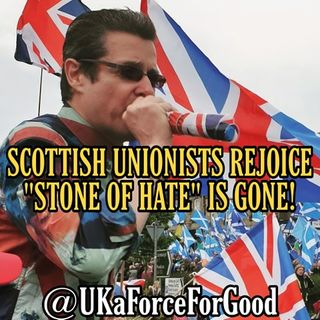"Scottish Unionists Rejoice! ""Salmond Stone of Hate"" Is Gone!"